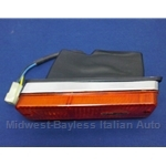 Turn Signal Assembly Front Left (Fiat X1/9 1973-75 + Euro Series 1) - OE NOS
