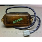 Turn Signal Assembly Front Right Amber (Fiat 124 Sedan 1974) - OE NOS
