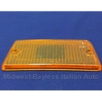 Turn Signal Lens Rear Left Top Amber (Fiat 131 Sedan 1975-78) - OE NOS