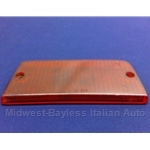 Turn Signal Lens Rear Left Top Red (Fiat 131 Sedan 1975-78) - OE NOS