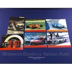 Promotional Post Card Set Fiat / Lancia Racing 1979 - NEW