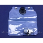 Washer Fluid Bag w/Offset Pump (Fiat 124 Spider, Coupe, X1/9, Lancia 1975-78) - NEW