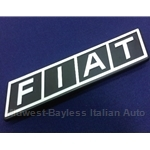 "Badge Emblem ""Fiat"" (Fiat 128 Sedan Wagon 1973-79) - OE"