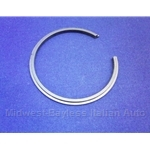 Wheel Bearing Retainer Snap Ring Front (Fiat Bertone X19 5-Spd 1979-88) - OE NOS