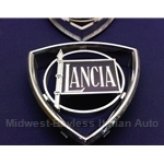 "Badge Emblem ""Lancia"" Front Grille (Lancia Beta Sedan) - OE NOS"
