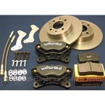 "WHOA! BRAKES Kit SERIES 1 for 14""-15"" Wheels - 10"" Rotor (Fiat X1/9, Lancia Scorpion, 128)"