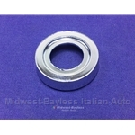 Window Crank Bezel Chrome (Fiat 128, 131) - OE NOS