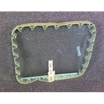 Window Glass Right (Fiat 124 Coupe) - OE NOS