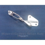 Quarter Window Rear Release Latch Left (Lancia Beta Coupe 1975-78) - OE NOS