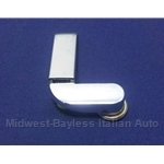 Wing Vent Quarter Window Latch Handle Left (Fiat 124 Spider 1979-82) - U8.5