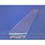 Wing Vent Window Glass Left (Fiat 850 Spider All) - U8