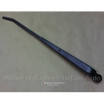 Wiper Arm Black (Fiat 124 Spider Pininfarina 1968-85) - OE NOS