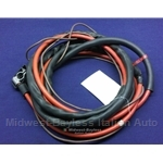 Battery Cable Positive (Pininfarina 124 Spider 1983-85) - OE NOS