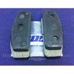 Brake Pad Set Front (Fiat 850 Spider, Coupe 1966-68) - OE NOS