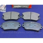 Brake Pad Set - Front Semi-Metallic (Lancia Beta All) - OE NOS
