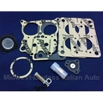Carburetor Rebuild Kit Weber 32 ADFA ADHA (Fiat 124 Spider Coupe, 131 1975-80) - NEW