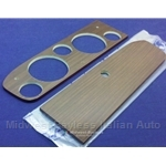 Dash Instrument Cluster / Glove Box Wood Panel SET 5-Hole (Fiat Pininfarina 124 Spider 1985 1/2) - OE