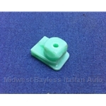 Screw Clip Green for Dashboard Glovebox (Fiat Bertone X1/9 1979-88) - U8
