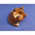 Distributor Cap DOHC w/o Notch (Fiat 124 Sedan Wagon 1970-73 w/S147 Dist. + Lancia Beta 1979 PLEX) - OE
