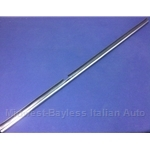 Door Glass Outer Weatherstrip Trim Left (Fiat 124 Spider All) - OE NOS
