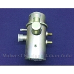 Emissions Cannister Gulp Valve w/1x Vacuum Tap (Fiat 124, 128, X1/9 to 1978) - OE