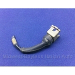 Fuel Injection Harness Connector 2-Wire INJECTOR PLUG (Fiat 124, X19, 131, Lancia) - U8