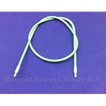 Hood Release Cable Sheath (Fiat 131 Brava All 1975-82) - OE NOS