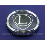 "Center Cap Hub Cap Badge Emblem ""L"" Steel Wheel (Lancia) - OE"