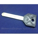Key Blank - Door / Trunk - Uncut (Lancia Beta Series All) - NEW