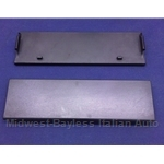 Radio Blanking Plate Panel (Lancia Beta Coupe Zagato HPE 1979-On) - U8