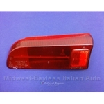 Tail Light Lens Left (Fiat 850 Spider Series 1 1966-69) - OE CARELLO