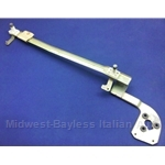 Windshield Wiper Carriage Assembly w/o Motor (Fiat 128 Sedan / Wagon 1972-On, Yugo) - OE NOS - PARTIAL