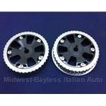 Adjustable Cam Gear PAIR 2x DOHC ALUMINUM (Fiat 124 Spider, Lancia 1979-On + 1968-78) - NEW