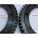 4-Spd Ring Gear 53T 4.08 (Fiat X19, 128, Yugo) - OE NOS