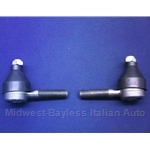 Tie Rod End Set - Inner and Outer (Fiat 124 Spider Coupe 1970-On) - NEW