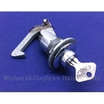 Glove Box Lock Assembly w/Key (Fiat 850 Spider) - U8