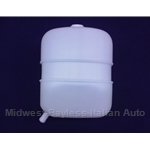 Coolant Expansion Overflow Tank (Fiat 124 Spider 1968-82) - NEW