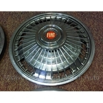 "Hub Cap Wire Wheel Cover 13"" (Fiat 124, 850, 128, 131, X19) - U8"