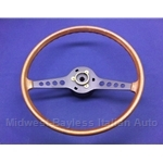 Steering Wheel (Fiat 850 Sedan Coupe 1969-72) - U8.5