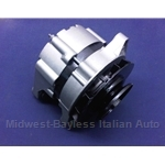 Alternator 44A Marelli - External Regulator (Fiat 124, 131 to 1977) - REMANUFACTURED