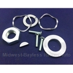 Alternator Pulley Hardware Kit for Bosch w/Woodruff Key (Fiat Pininfarina 124, 131/Brava, X1/9, Ritmo w/Bosch) - OE NOS