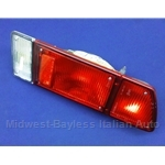 Tail Light Assembly Right - Red (Fiat Bertone X19 1973-88) - OE NOS