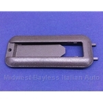 Sun Roof Sunroof Handle Surround - Brown (Fiat 131 Brava) - OE NOS