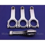 Connecting Rod Set SOHC H-Beam 1500 (Fiat Bertone X19 1979-88 + UNO, TIPO 1.6) - NEW