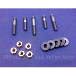 Exhaust Manifold Hardware Kit - (Fiat / Lancia DOHC) - NEW