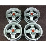 Alloy Wheels SET 4x Cromodora CD-30 13x5.5 (Fiat 124, X1/9, 850, 128, 131, Lancia) - NEW