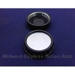 Fuel Filler Cap - For Concealed Necks - OE Style (Fiat Lancia All 1969-On, Fiat 124 Spider, Coupe, Sedan 1969-On) - NEW