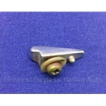 Fuel Filler Door Chrome Lifting Ornament (Fiat 124 Spider All) - U8