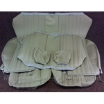 Seat Cover Upholstery - COMPLETE SET Tan / Beige (Fiat 124 Spider 1979-82) - NEW