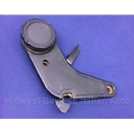 Seat Adjuster Control + Hinge Right (Fiat 124 Spider 1968-78) - U7.5